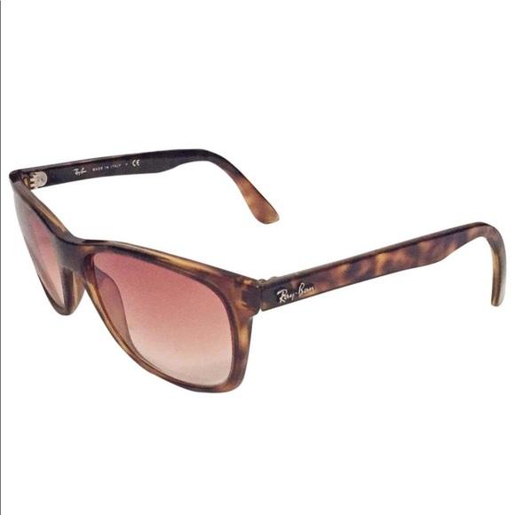 Ray Ban RB 4181 tortoise brown sunglasses